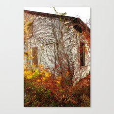 Somewhere in Rhode Island - Abandoned Mill 002 Canvas Print