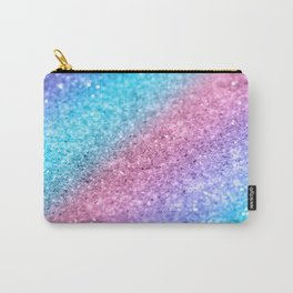 Rainbow Princess Glitter #2 #shiny #decor #art #society6 Carry-All Pouch