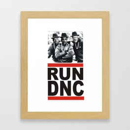 RUN DNC Framed Art Print