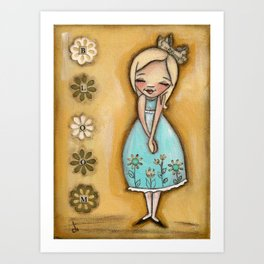 Bloom - by Diane Duda Art Print