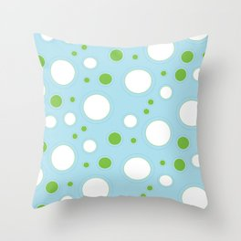 Blueberry Fizz Throw Pillow
