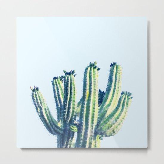 Cactus #society6 #decor #buyart Metal Print