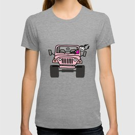 Jeep Wave Pink - Girl T-shirt