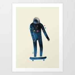 Skate/Space Art Print