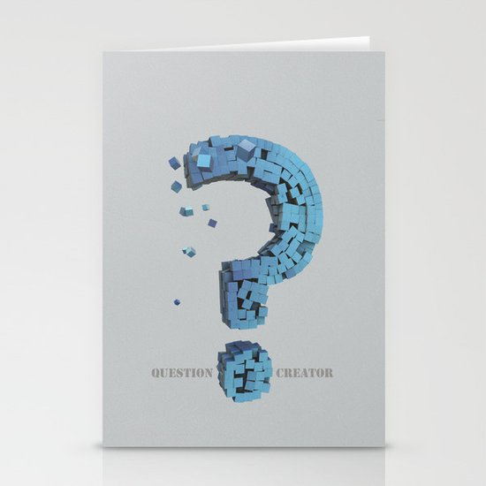 Question Creator Stationery Cards