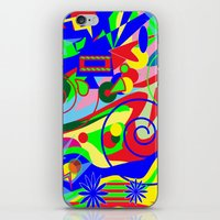 graffiti iPhone & iPod Skins featuring Graffiti by DesignsByMarly