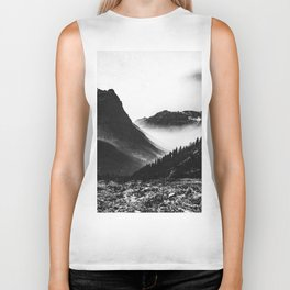 Mountain Valley Glacier National Park Biker Tank
