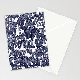 Uber Grind ( collage ) Stationery Cards