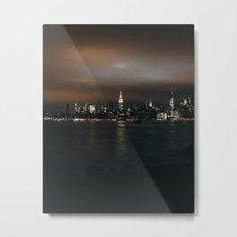 NY East River Metal Print