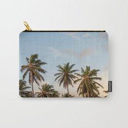 Sky beach palmier Carry-All Pouch