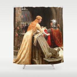 God Speed - Edmund Leighton Shower Curtain