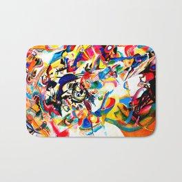 Kandinsky - Composition VII Bath Mat