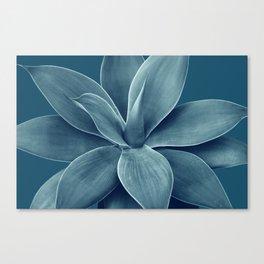 Blue Agave Romance #1 #tropical #decor #art #society6 Canvas Print