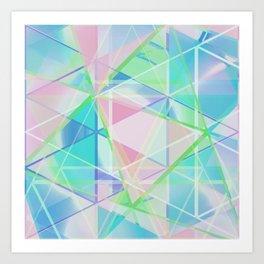 Crystalize 2 Art Print