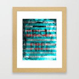 Break Free Poster Framed Art Print