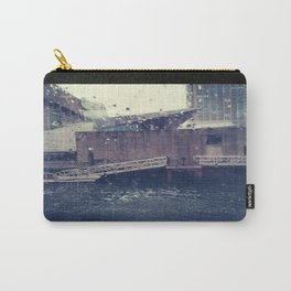 Droplets On Boston Harbor Carry-All Pouch