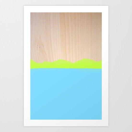 Sorbet VII Art Print