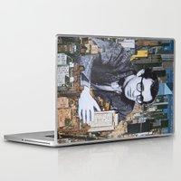 manhattan Laptop & iPad Skins featuring Manhattan by John Turck