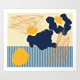 Mimosa Sunset Art Print