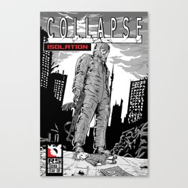 Collapse Issue one Canvas Print