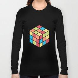 #68 Rubix Cube Long Sleeve T-shirt