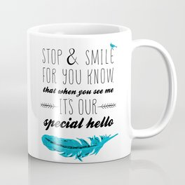 Blue Bird - Lost Loved One Coffee Mug