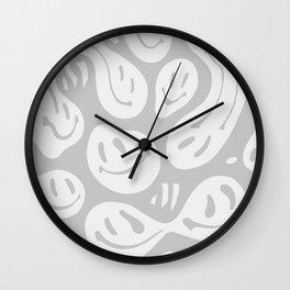 Liquify Cool Grey Wall Clock