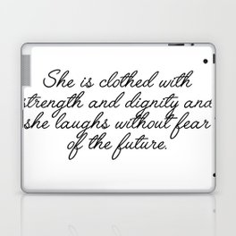she is clothed Laptop & iPad Skin