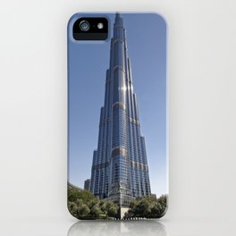 Burj Khalifa by Adrian Smith Architect   Dubai iPhone Case