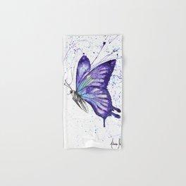 Lavender Butterfly Hand & Bath Towel