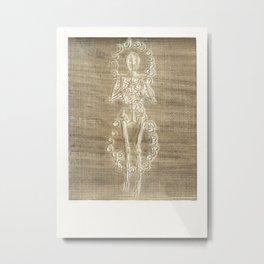 Skeleton Print - P1 Metal Print