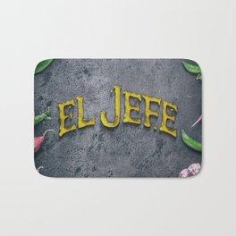 EL JEFE Bath Mat