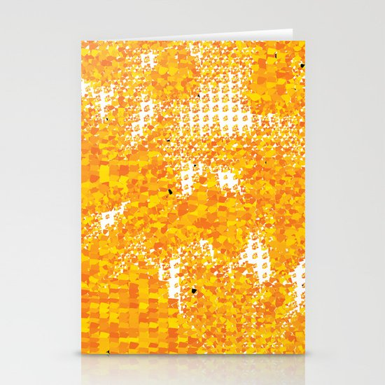 Golden Pebbles Stationery Cards