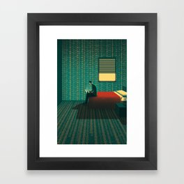 Room of Numbers Framed Art Print