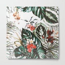 Jungle watercolor Metal Print