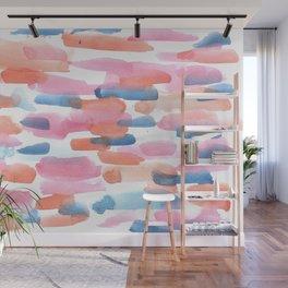 180527 Abstract Watercolour 5 | Watercolor Brush Strokes Wall Mural