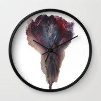 vagina Wall Clocks featuring Ashley Lane's Vagina No.2 by Nipples of Venus