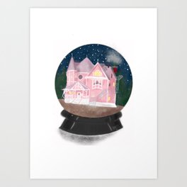 The Pink Palace Art Print