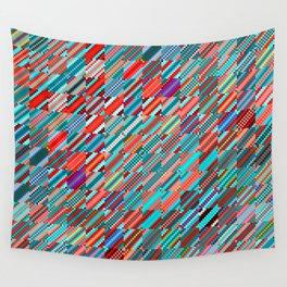 """Sin(Tan(k × n) × sinc(j + i) × a) ["""" _16""""] Wall Tapestry"""