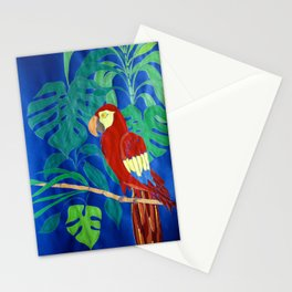 Il Pappagallo Felice (The Happy Parrot) Stationery Cards