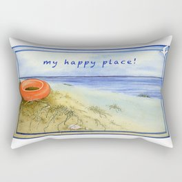 My Happy Place! Rectangular Pillow