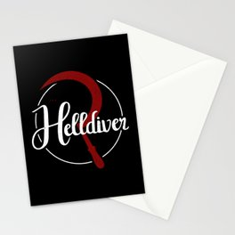 The Helldiver Stationery Cards