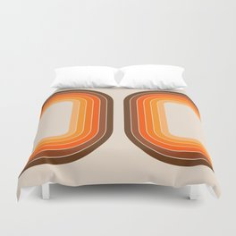 Tan Tunnel Duvet Cover