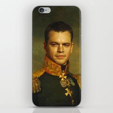Matt Damon - replaceface iPhone Skin