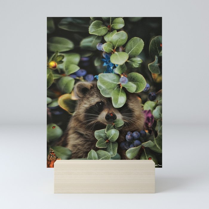 don't wait until heaven to bloom Mini Art Print
