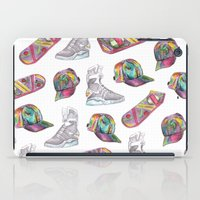 hologram iPad Cases featuring watercolor back to the future 2 by Sarah Brust