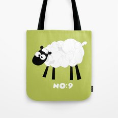 Sheep Number 9.... Tote Bag