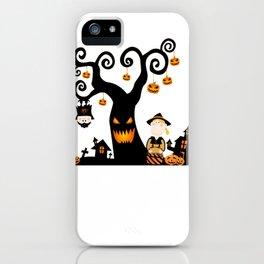 Halloween atmosphere iPhone Case
