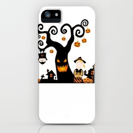 Halloween atmosphere iPhone Case