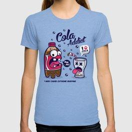 Red Cola Addict T-shirt